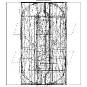 字母组合风格的 iPhone 手机壳